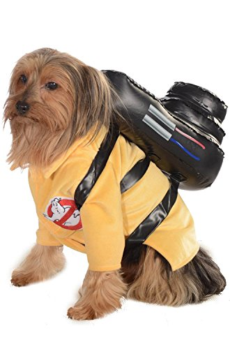 Rubies Costume Ghostbusters Movie Collection Pet Costume, Medium, Ghostbuster Jumpsuit