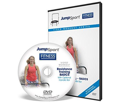 JumpSport Fitness Cama elástica para entrenamiento de DVD, resistencia y resistencia, opciones disponibles, Entrenamiento de...