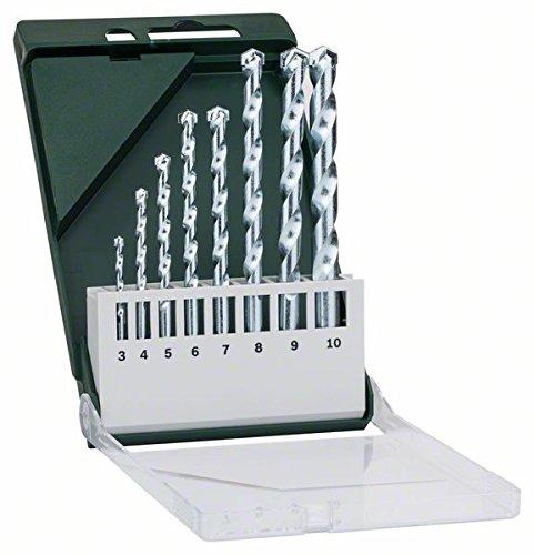 Genuine Bosch 7-piece Masonry Drill Set 2607019581 3165140430302 D2 SALE