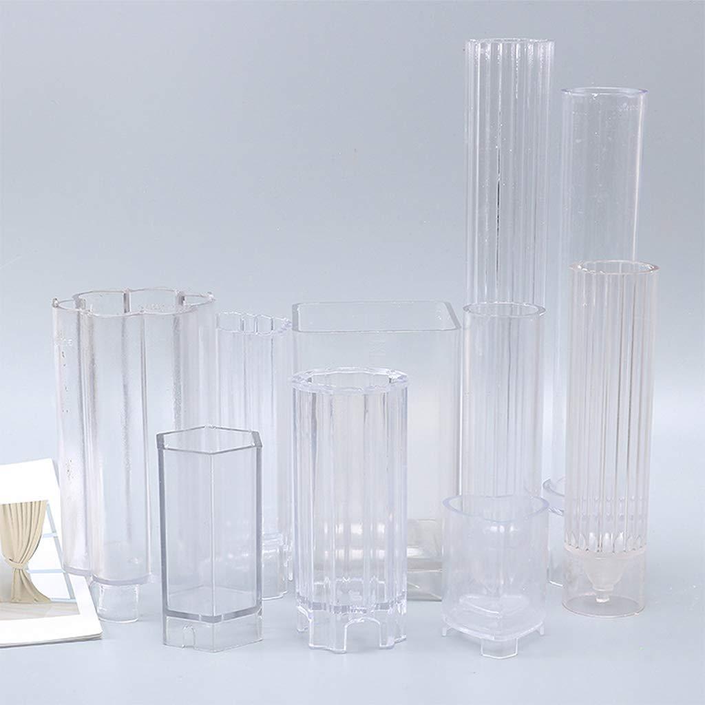 MYA 1Pc Bougie Moules pour Cadeau De Vacances De No/ël Bricolage Kit De Fabrication De Bougies Fournitures,3.5x23cm