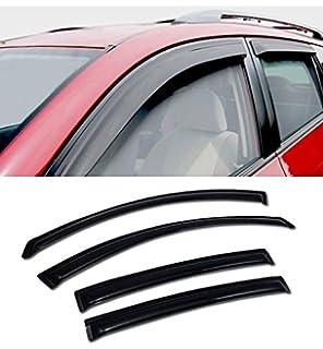 SUN//RAIN GUARD SMOKE VENT SHADE DEFLECTOR WINDOW VISORS FOR 03-08 TOYOTA MATRIX
