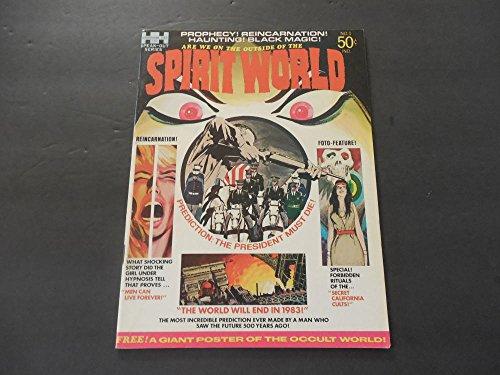 Spirit World #1 Bronze Age BW Magazine Fall 1971 Jack Kirby (Jack Spirit Kirby World)