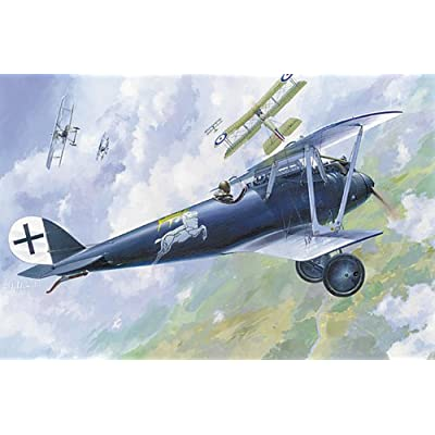 Roden Pfalz D.IIIA German Biplane Fighter Airplane Model Kit: Toys & Games