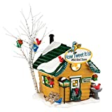 Department 56 Snow Village How Tweet It Is Wild Bird Lit House, 5.31 inch