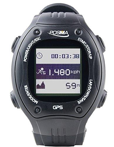 Posma W2 GPS Navigation Running Cycling Hiking Multisport Watch with ANT+ compatibility STRAVA MapMyRide/MapMyRun