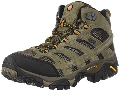 Merrell Men's Moab 2 Mid Waterproof Hiking Boot (11.5 D(M) US, Walnut) -