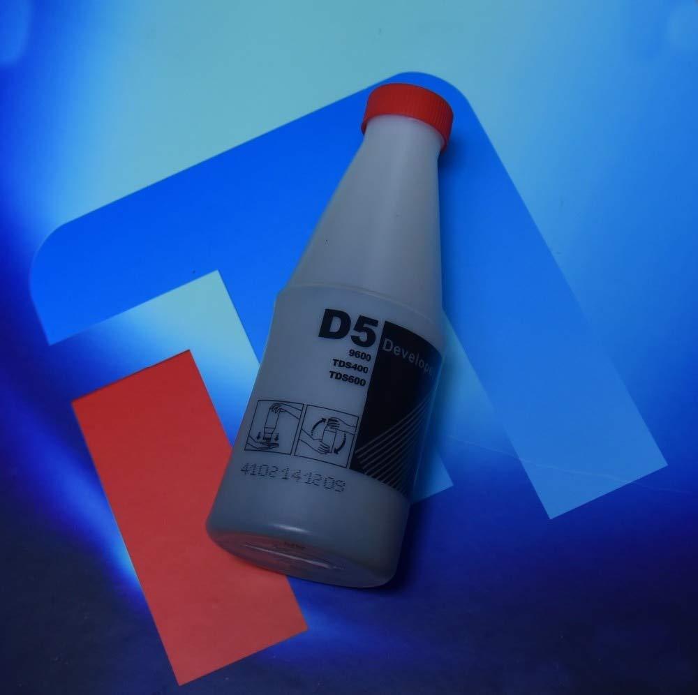 Yoton compatible D5 black Developer for OCE D5 TDS400 450 TDS600 320 300 9600 1650G per bottle
