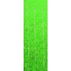 Gardman 1.8m Grow Spiral Galvanised (Pack of 3)