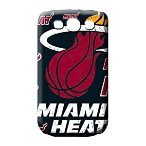 samsung galaxy s3 Shock Absorbing PC Perfect Design mobile phone cases miami heat nba basketball
