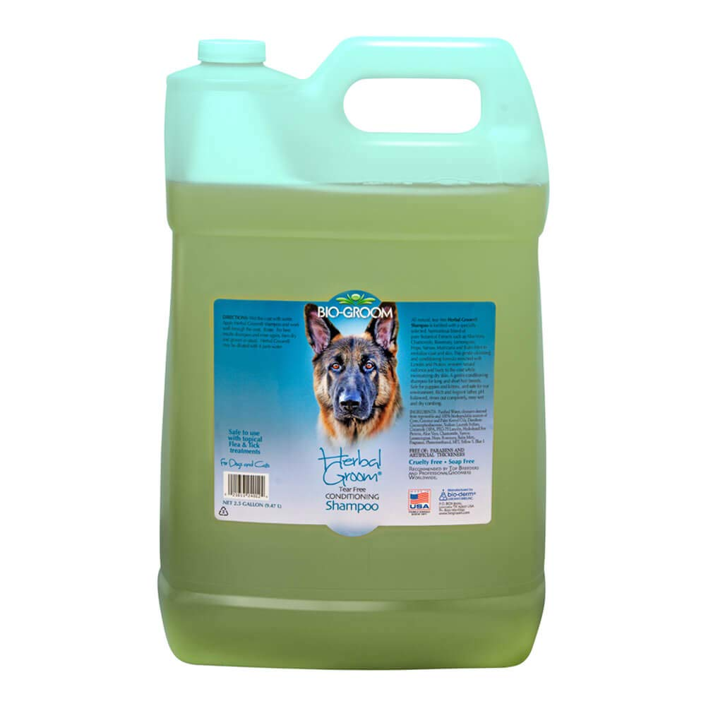 BIO-GROOM Herbal Groom Puppies and Kittens Conditioning Shampoo, 2-1/2-Gallon by BIO-GROOM