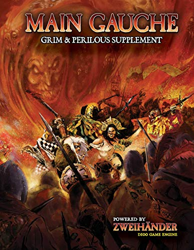 Book cover from MAIN GAUCHE Grim & Perilous Supplement by Daniel D. Fox