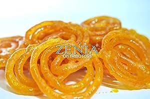 Zenia Premium Quality Jalebi Fresh Indian Sweet, 1lb