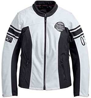0a70244d8df9 ... 115th Anniversary Reflective with Contrast Stitching Leather Jacket  98010-18VW.  299.99 -  312.88 · Harley-Davidson Women s Amelia Anne Soft  Shell ...
