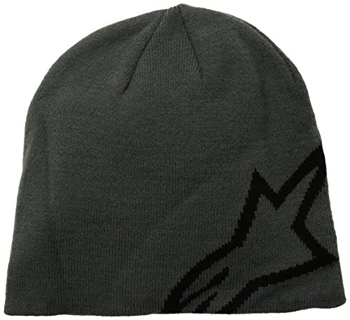 ALPINESTARS Men's Corp Shift Beanie, Charcoal, One Size (Fox Beanie For Men)