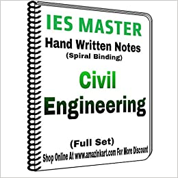 Buy IES Master Civil Engineering Hand Written Notes with