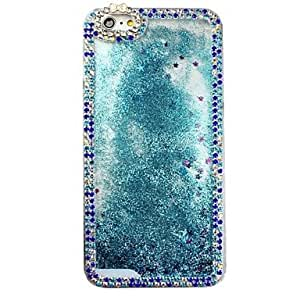 LCJ Diamond Edge Water Oil Stars Phone Shell Cases for iPhone 6 Plus (Assorted Color) , Blue