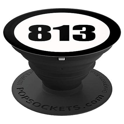 Amazon com: 813 Area Code Tampa Florida Phone Accessory - PopSockets