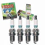 4 pc Denso Iridium TT Spark Plug for Honda CR-V 2.0L 2.4L L4 2000-2009 Tune Up Kit