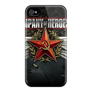 Back Cases Covers For Iphone 6 - Company Of Heroes 2 Video Game by mcsharks