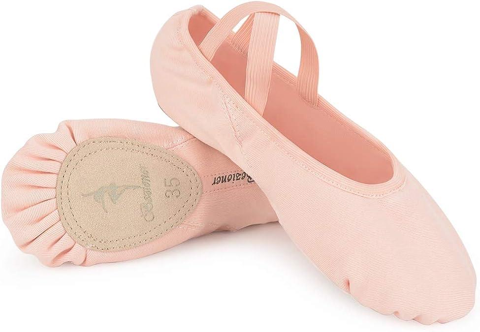 Stretch Canvas Split Sole Ballet Slipper - So Danca Australia