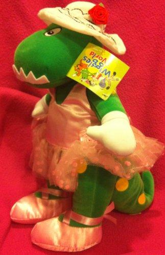 "The Wiggles Dorothy the Dinosaur Plush, Ballerina Dorothy 7"" Plush Doll Toy"