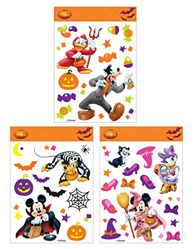 Disney W80470 Mickey & Friends Window Cling Set -