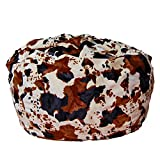 Ahh! Products Horse Pony Animal Print Fur Washable Large Bean Bag Chair