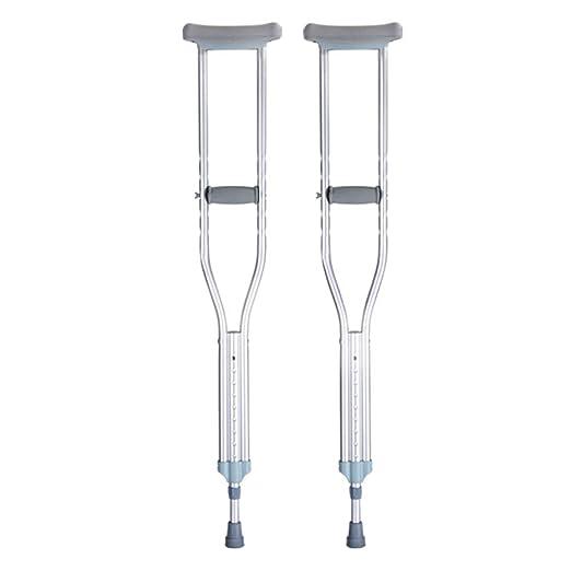 Bcxx Muleta Axila Muletas dobles Aleación de aluminio Médica ...