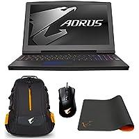 AORUS X5 v8-CL4D Enthusiast (i7-8850H, 32GB RAM, 1TB NVMe SSD + 1TB HDD, NVIDIA GTX 1070 8GB, 15.6 144Hz IPS FHD, Windows 10) VR Ready Gaming Notebook