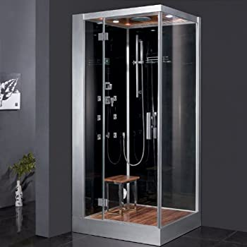 Ariel DZ960F8-BLK-L Ariel Platinum DZ960F8 L Steam Shower