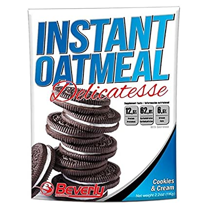 Beverly Nutrition Instant Oatmeal 1 kg - Cookies-Cream