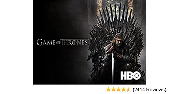 Amazoncouk Watch Game Of Thrones Season 1 Prime Video