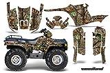 AMRRACING Polaris Sportsman 400/500/600/700 1995-2004 Full Custom ATV Graphics Decal Kit - Wing Camo