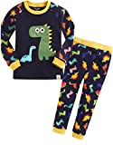 Vaenait baby 12M-7T Kids Boys Sleepwear Pajama 2pcs Set Buddy Dino XL