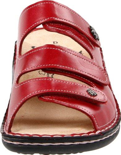 Finn ComfortMenorca-Soft - Sandalias de Punta Descubierta Mujer Rojo - rojo