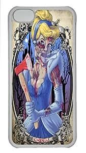 CSKFUDurable iphone 6 5.5 plus iphone 6 5.5 plus Case, The Little Mermaid Ariel Transparent PC Case for iphone 6 5.5 plus iphone 6 5.5 plus
