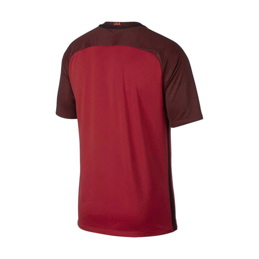 Gym RED Nike Dry USA Stadium Jersey