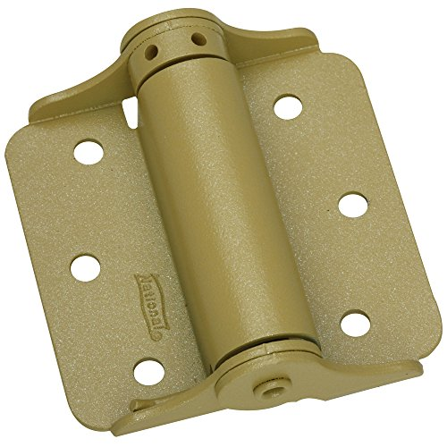 National Hardware N115-006 125 Adjustable Spring Hinges in Brass , 3
