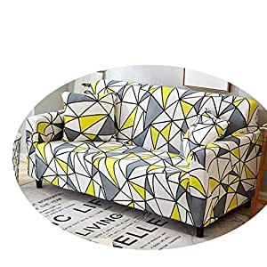 Amazon.com: Sofa Cover Elastic Couch Cover Funda Sofa L ...