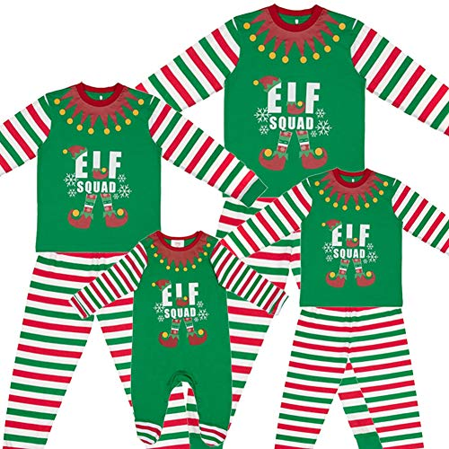 89377779e670a Made By Elves Elf Squad PJs Matching Family Christmas Elf Pyjamas Mens  Womens Child Newborn - Buy Online in Oman. | Clothing Products in Oman -  See Prices, ...