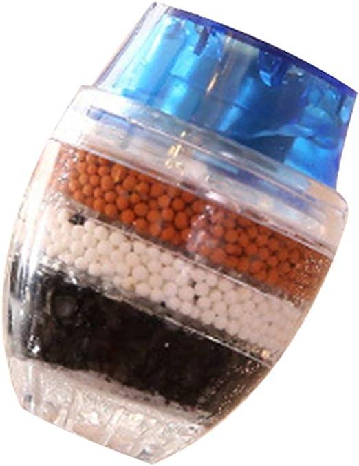 Gugutogo Filtro del Grifo del hogar Boquilla a Prueba de Salpicaduras Purificador de Agua Piedra médica Filtro de Agua magnetizado Herramienta de Cocina: Amazon.es: Hogar