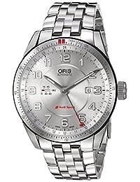 Oris Men's 74777014461MB Audi Analog Display Swiss Automatic Silver Watch