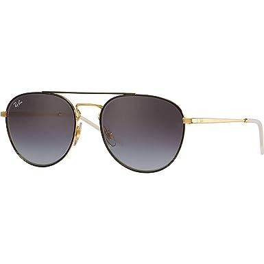020cc95c22 Ray-Ban tour des lunettes de soleil aviateur en brun sur or RB3589 905513  55: Amazon.fr: Vêtements et accessoires