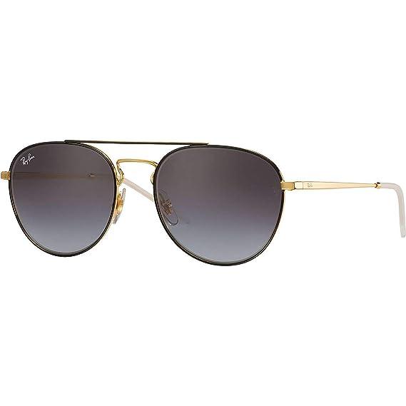 Ray-Ban 0RB3589, Gafas de Sol para Mujer, Negro (Gold Top on ...