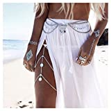 #9: Chic Vintage Coin Multilayer Boho Thigh Leg Chain Bohemia Jewelry Accessory 1PC