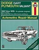 Dodge Dart / Plymouth Valiant '67'76 (Haynes Repair Manuals)