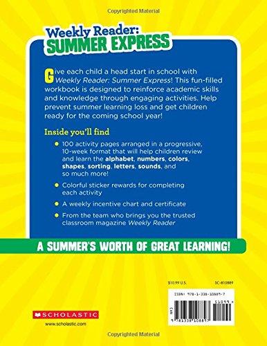 Amazon.com: Weekly Reader: Summer Express (Between Grades K & 1 ...