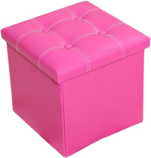 Lovehouse Foldable Storage Ottoman Cube