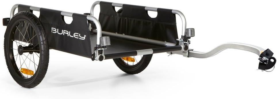 Burley 941202  Fahrrad Lasten Anh/änger Alu faltbar FLATBED 16 Zoll 45kg Zuladung
