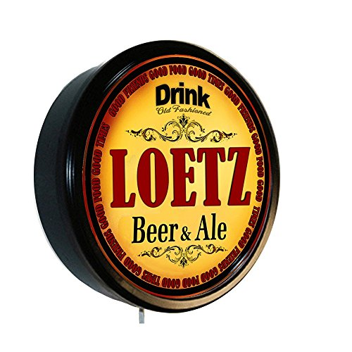 LOETZ Beer and Ale Cerveza Lighted Wall Sign